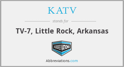 What does KATV stand for?