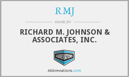 What does RMJ stand for?