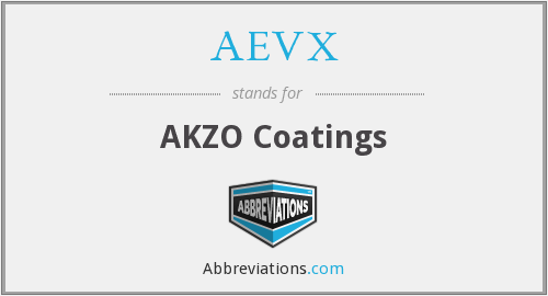 What does AEVX stand for?