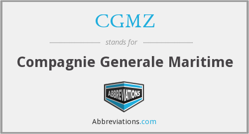 What does CGMZ stand for?