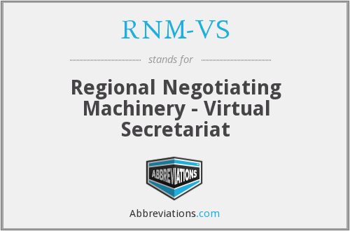 What does RNM-VS stand for?