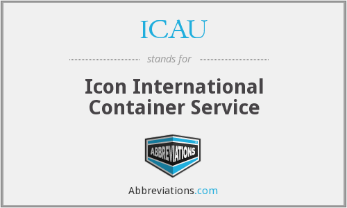 What does ICAU stand for?