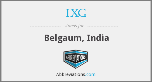 What does IXG stand for?