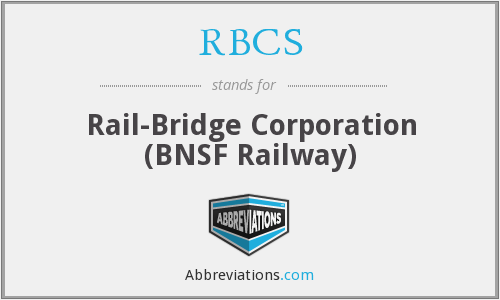 What does RBCS stand for?