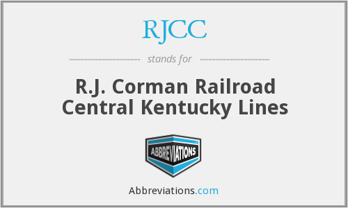 What does RJCC stand for?