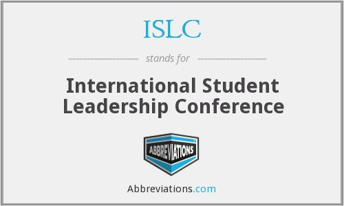 What does ISLC stand for?