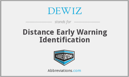 What does DEWIZ stand for?