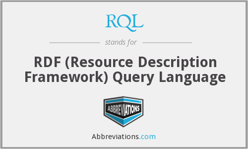What does RQL stand for?