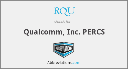 What does RQU stand for?