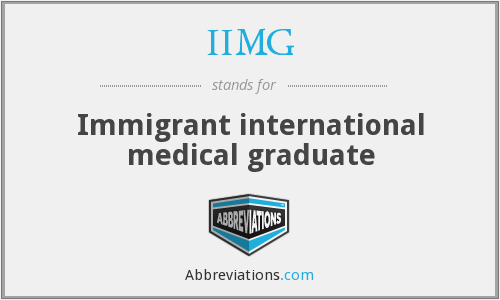 What does IIMG stand for?