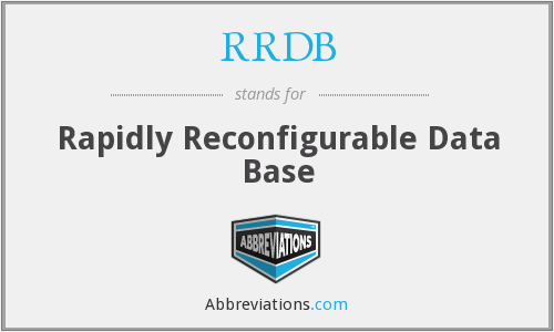 What does RRDB stand for?