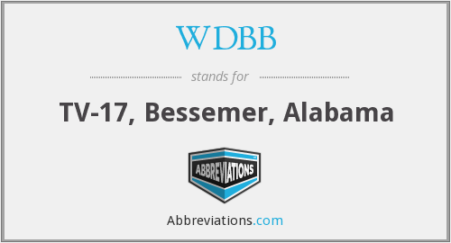 What does WDBB stand for?