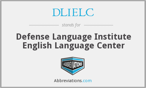 What does DLIELC stand for?
