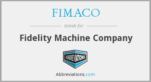 What does FIMACO stand for?