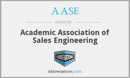 What does AASE stand for?