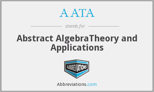 What does AATA stand for?