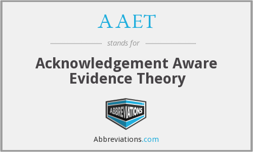 What does AAET stand for?