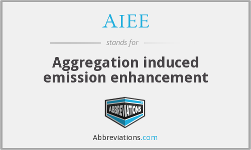 What does AIEE stand for?