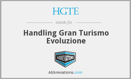 What does HGTE stand for?