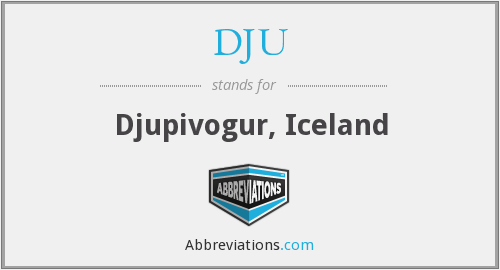What does DJU stand for?