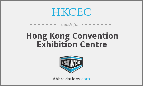 What does HKCEC stand for?