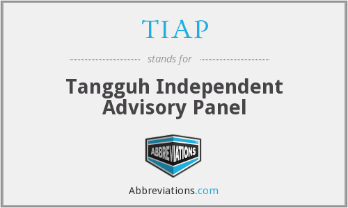 What does TIAP stand for?