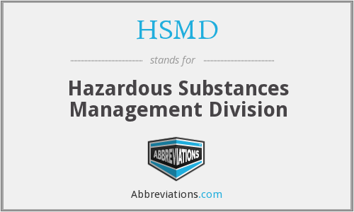 What does HSMD stand for?