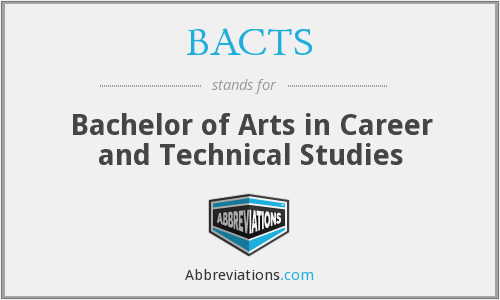 What does BACTS stand for?