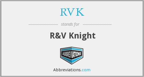 What does RVK stand for?