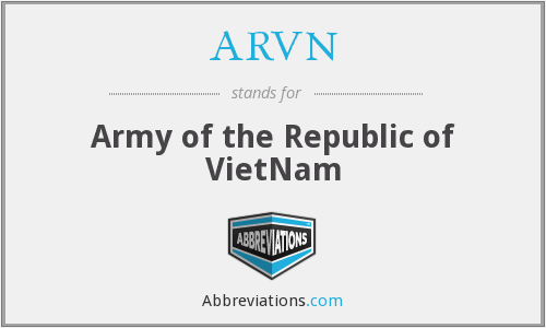 What does ARVN stand for?