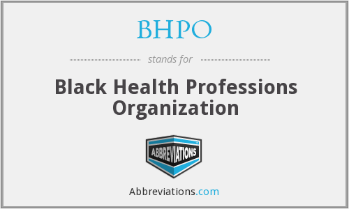 What does BHPO stand for?