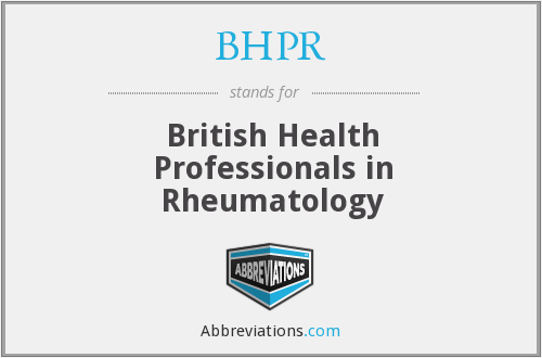 What does BHPR stand for?