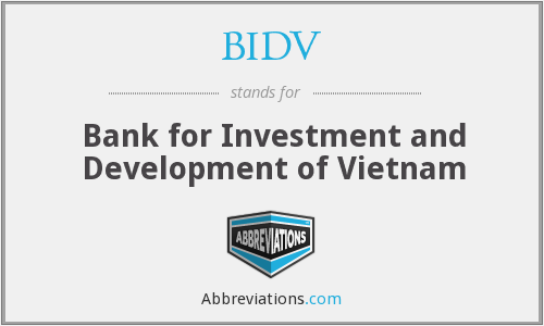 What does BIDV stand for?