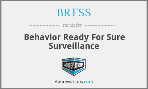 What does BRFSS stand for?