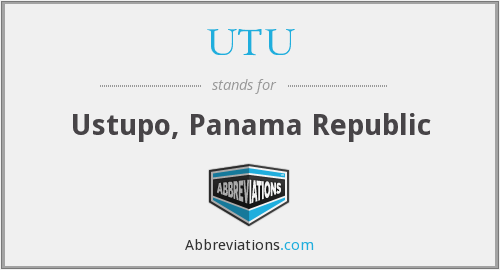 What does UTU stand for?