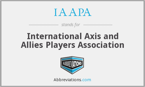 What does IAAPA stand for?