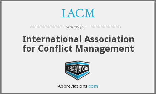 What does IACM stand for?