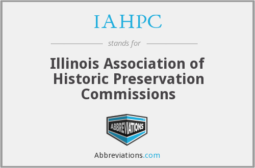 What does IAHPC stand for?