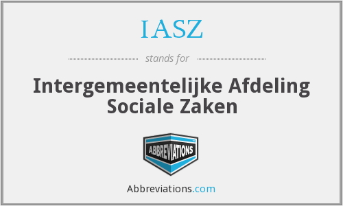 What does IASZ stand for?