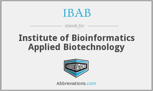 What does IBAB stand for?
