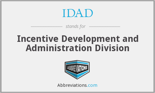 What does IDAD stand for?