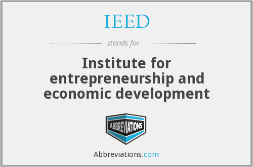 What does IEED stand for?
