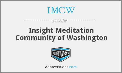 What does IMCW stand for?