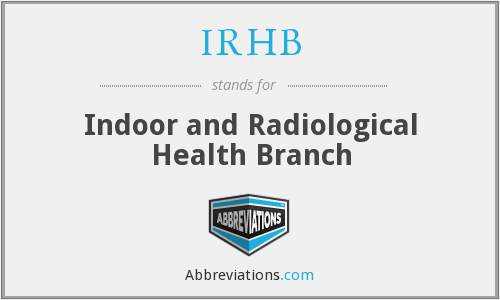 What does IRHB stand for?
