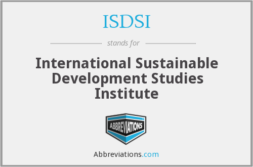 What does ISDSI stand for?