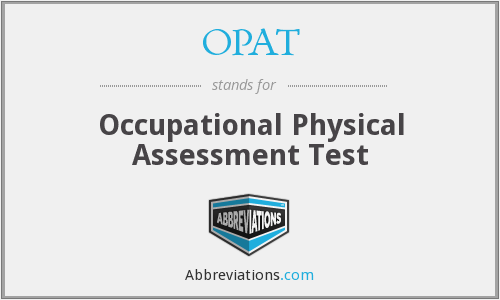 What does OPAT stand for?