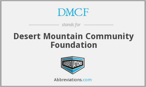 What does DMCF stand for?