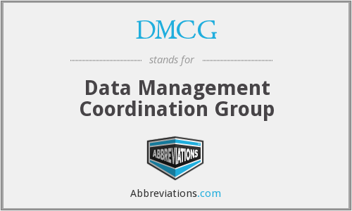 What does DMCG stand for?