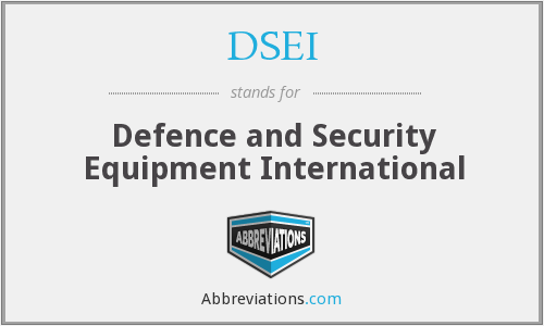 What does DSEI stand for?