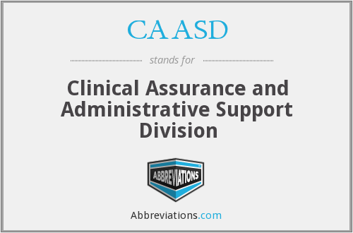 What does CAASD stand for?